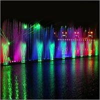 Outdoor Musical Fountain