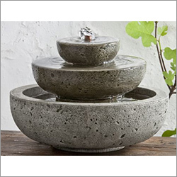 3 Tier Outdoor Stone Fountain