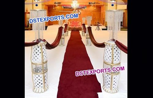 Wedding Aisle Decor Pillars