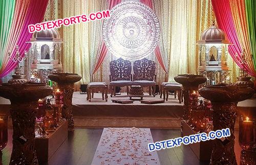 Beautiful Wedding Stage Decoration