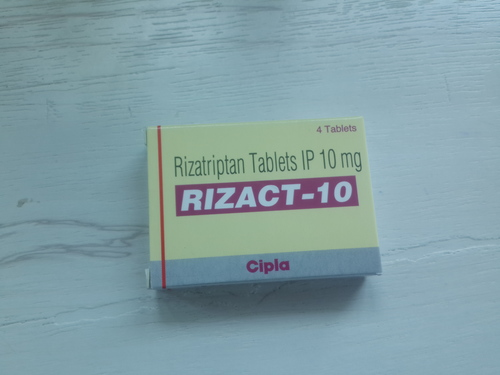 Rizact-10 (Rizatriptan Tablets IP 10mg )