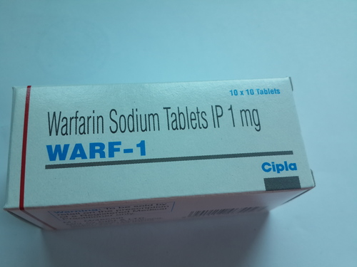 Warf-1 (Warfarin Sodium Tablets IP 1mg)