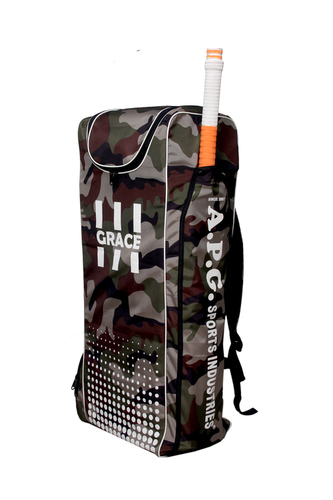 APG Cricket Kit Bag- Camo Duffle (GRACE)