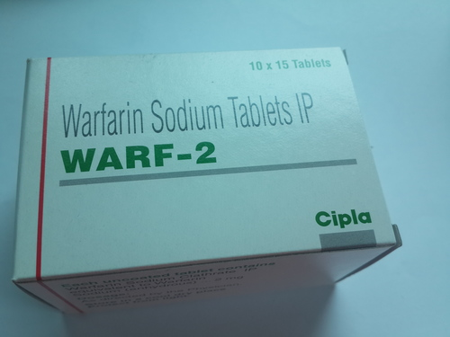 Warf-2 (Warfarin Sodium Tablets IP)