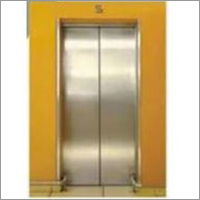Center Opening Automatic Lift Door