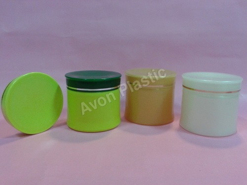 Colourful Cosmetic Jars