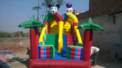 Double Lane Inflatable Slide