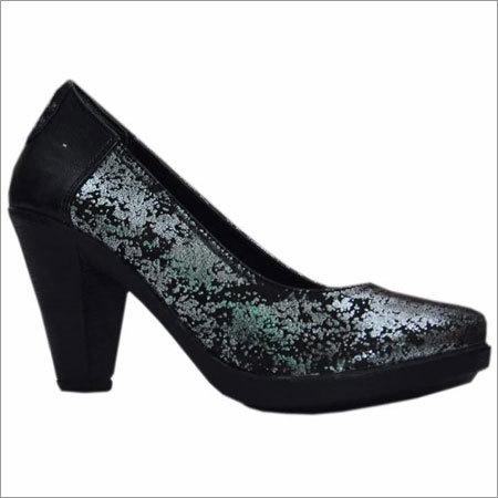 Ladies Designer Leather Heels