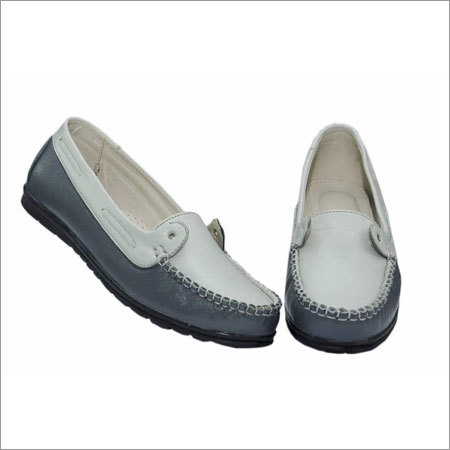 Women Leather Loafer Shoes