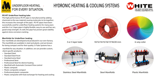 Underfloor Hydronic Heating & Cooling Systems