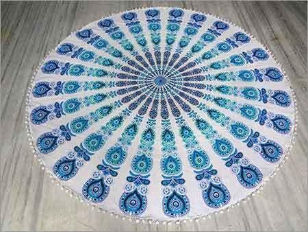 Round Beach Designer Towel