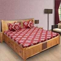 Designer Fitted Bedsheet
