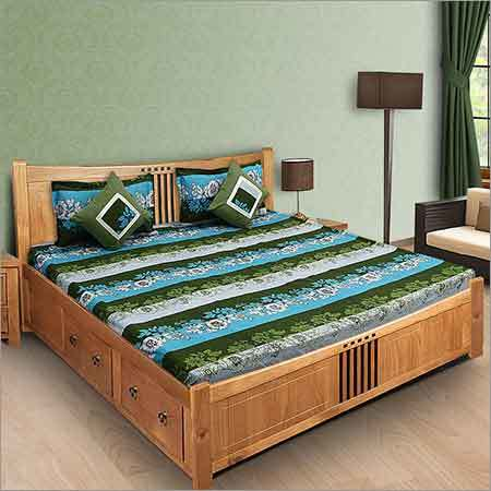 Digital Print Fitted Bedsheet