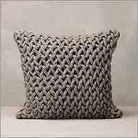 Designer Knitted Poufs