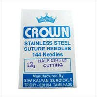 Fistula Half Circle Cutting Suture Needle