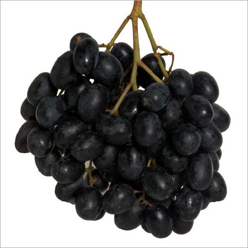 Frozen Black Grapes
