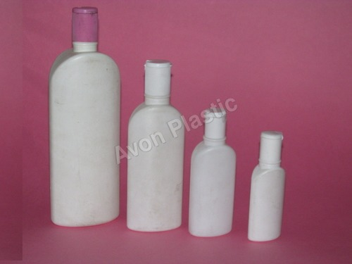 White Shampoo Bottles