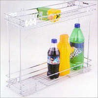 Bottle Pullout 2 Shelves