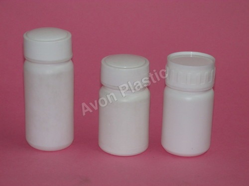 White Pharmaceutical Containers