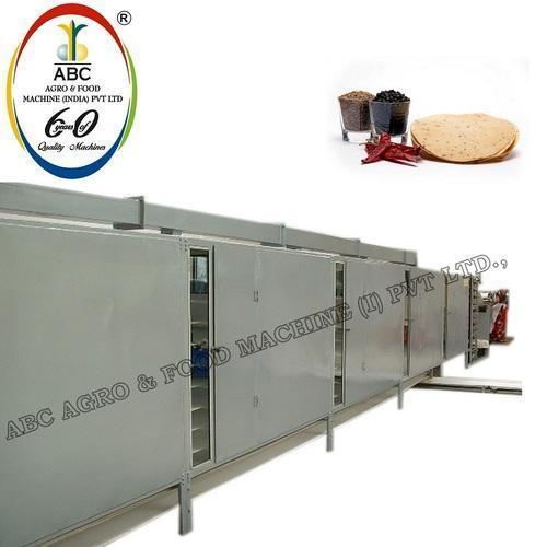 Appalam Papad Drying Machine