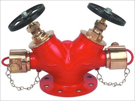 Gun Metal Double Headed Hydrant Valve