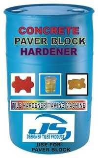 CONCRETE PAVER BLOCK HARDENER