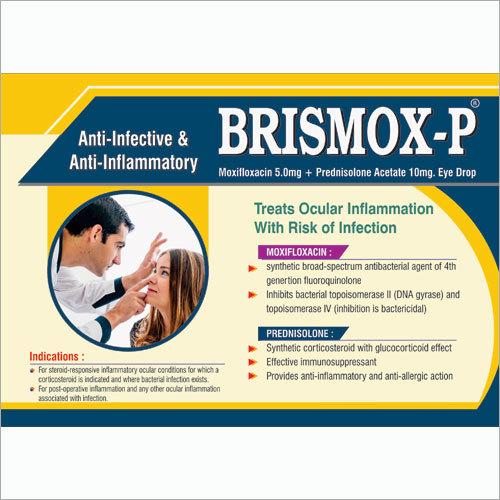 Moxifloxacin Prednisolone Eye Drops