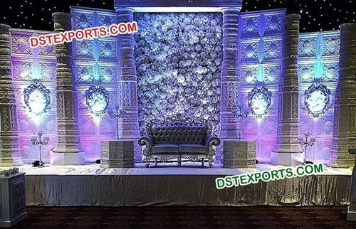 Indian Design Wedding Stage Decoration