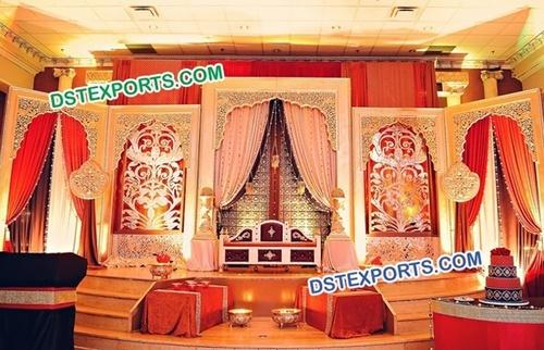 Mehraap Wedding Stage Backdrop Decoration
