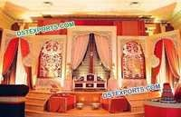 Mehraap Wedding Stage Backdrop Decoration