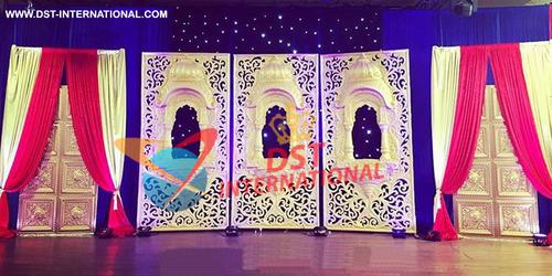 Jharokha Panels Backdrop