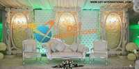 Modern Wedding Backdrop Panel Stage