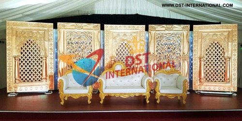 Wedding Traditional Backdrop Door Panels