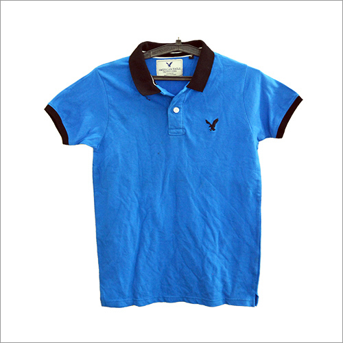 Men Polo Collar T-Shirt