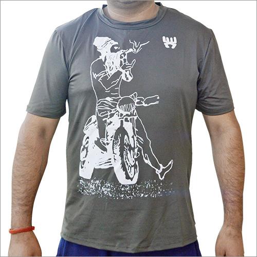 Men Printed Round Neck T-Shirt