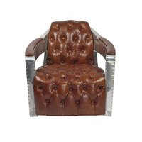 Aviator Leather Club Chair