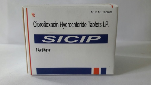 Ciprofloxacin 250/500 Tablet