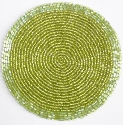 Oilve Bead Coaster