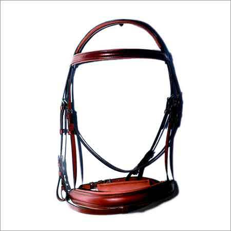 Hand Bridle With Leather Noseband