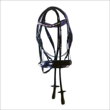 Swarovski Chain Padded Fancy Bridle
