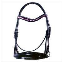 Fancy Chain Browband And Noseband Bridle