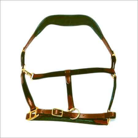 Horse Leather Chest Halter