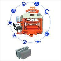 Auto Feeder Double Punch Hollow Block Machine