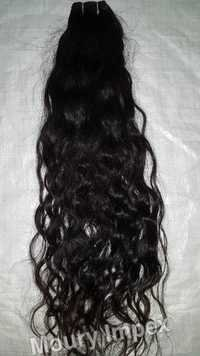 Machine Weft Natural Deep Wave Hair