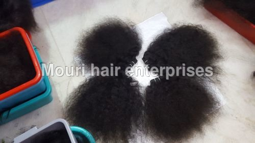 Machine Weft Natural Loose Curly Hair