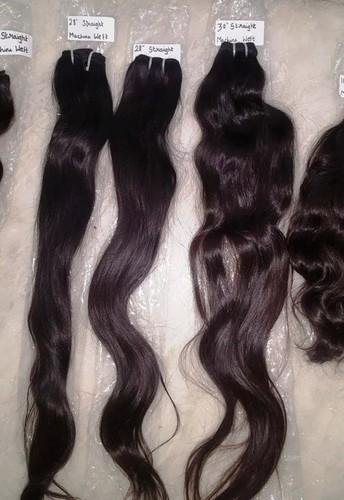 Machine Weft Natural Straight Hair