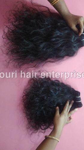 Machine Weft Natural Wave Hair