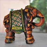 Terracotta Elephant Sculpture