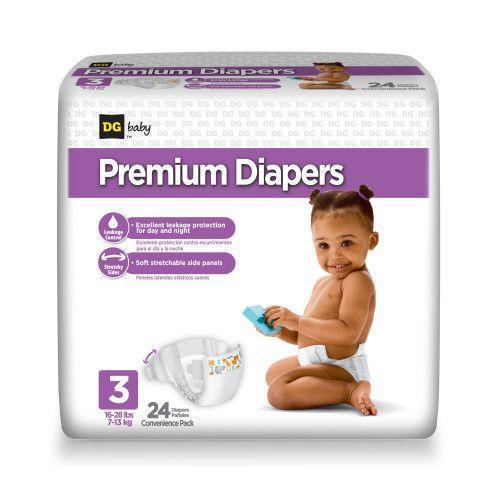 Baby Diaper Packaging Bag