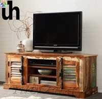 Wood TV Media Unit